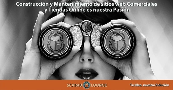 Construir y mantener sitios web comerciales, tiendas online y Marketplaces es nuestra pasión. Scarab Lounge, agencia digital de servicio completo para páginas web, marketing, redes sociales y más