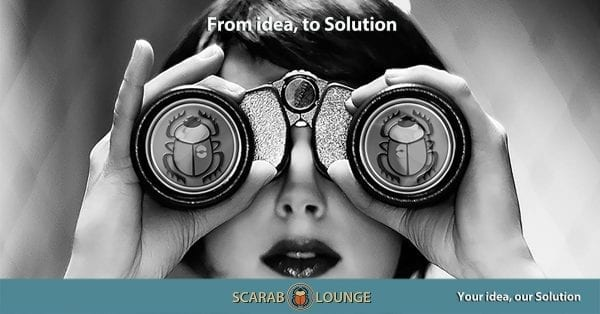 From idea to Solution. Scarab Lounge a full-service Digital Agency for National and International Websites, Marketing and Social Media Spain the Netherlands