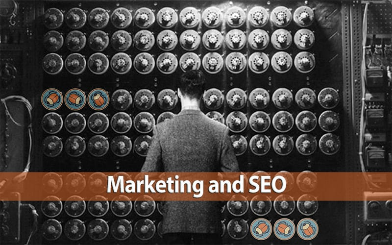 and /or Select: Marketing and SEO