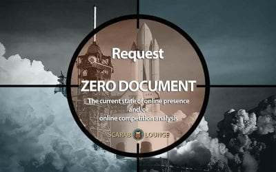 Request `Zero Document' Product form. The current state of online presence and/or online competition analysis